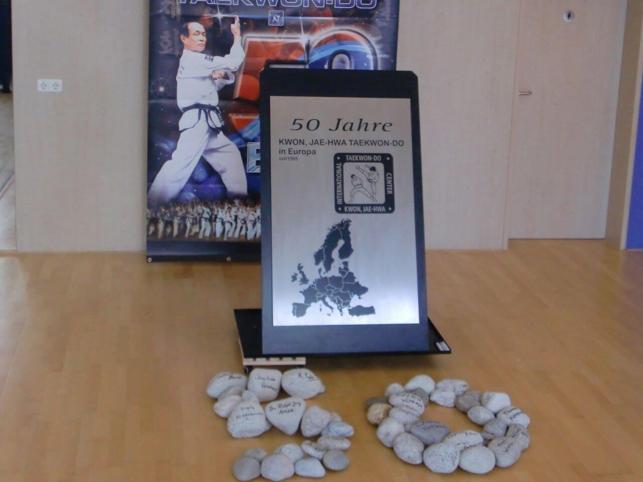 Gastgeschenk des Taekwon-Do Black Belt Centers Kempten