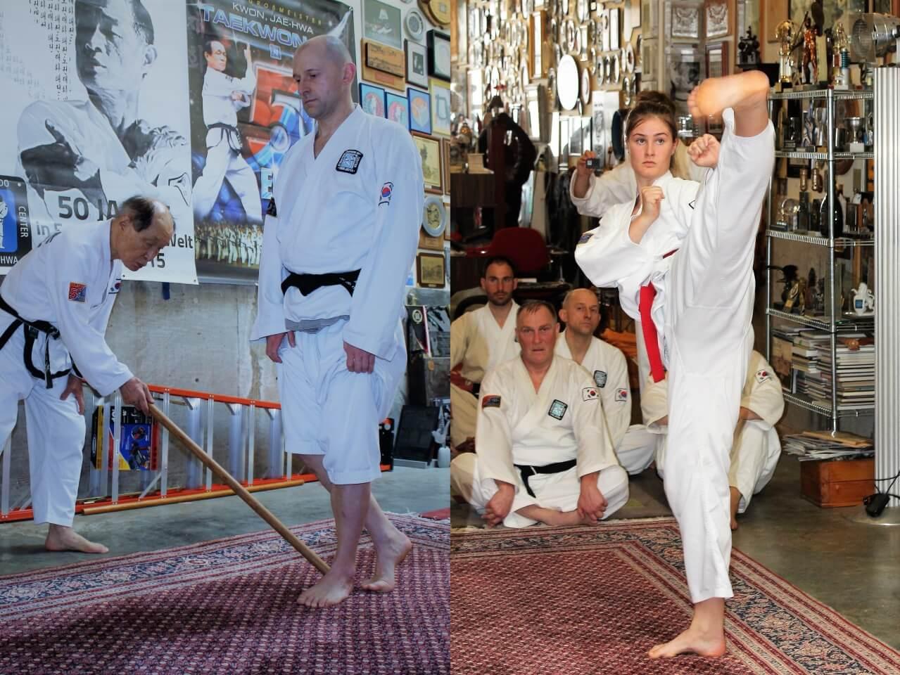 Trainingswoche bei Kwon, Jae-Hwa in Portland 2018 ...  Trainingswoche ...